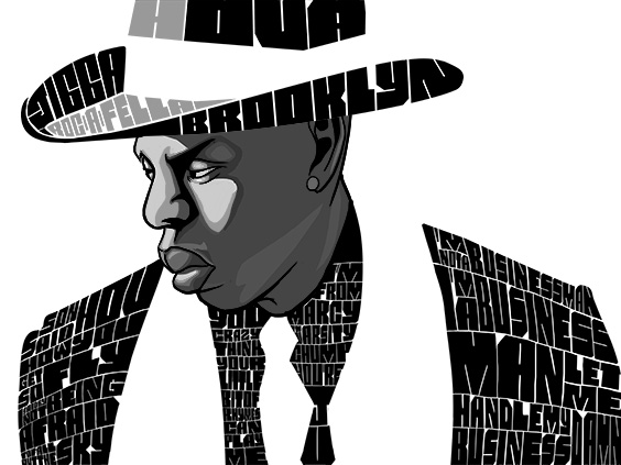 The Digital Jay Z piece